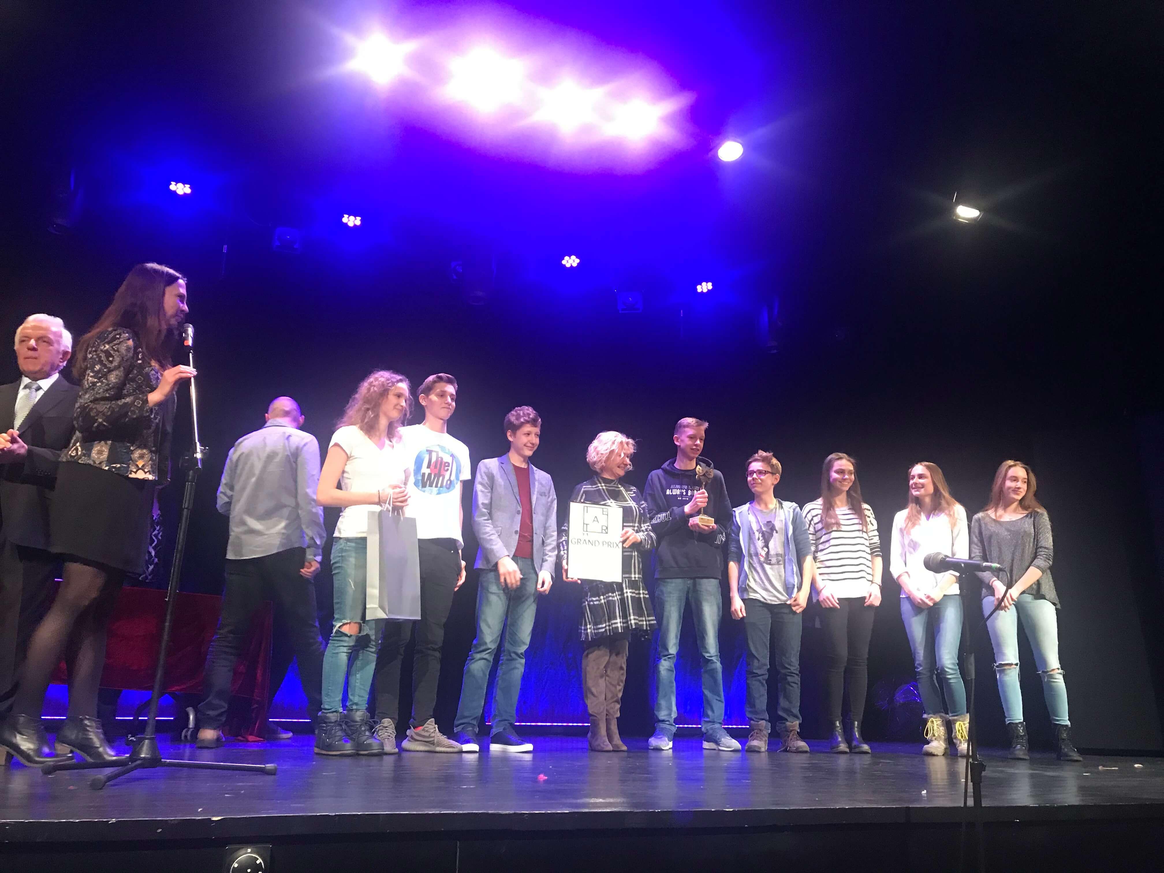 Festiwal Małych Form Teatralnych wzięty!