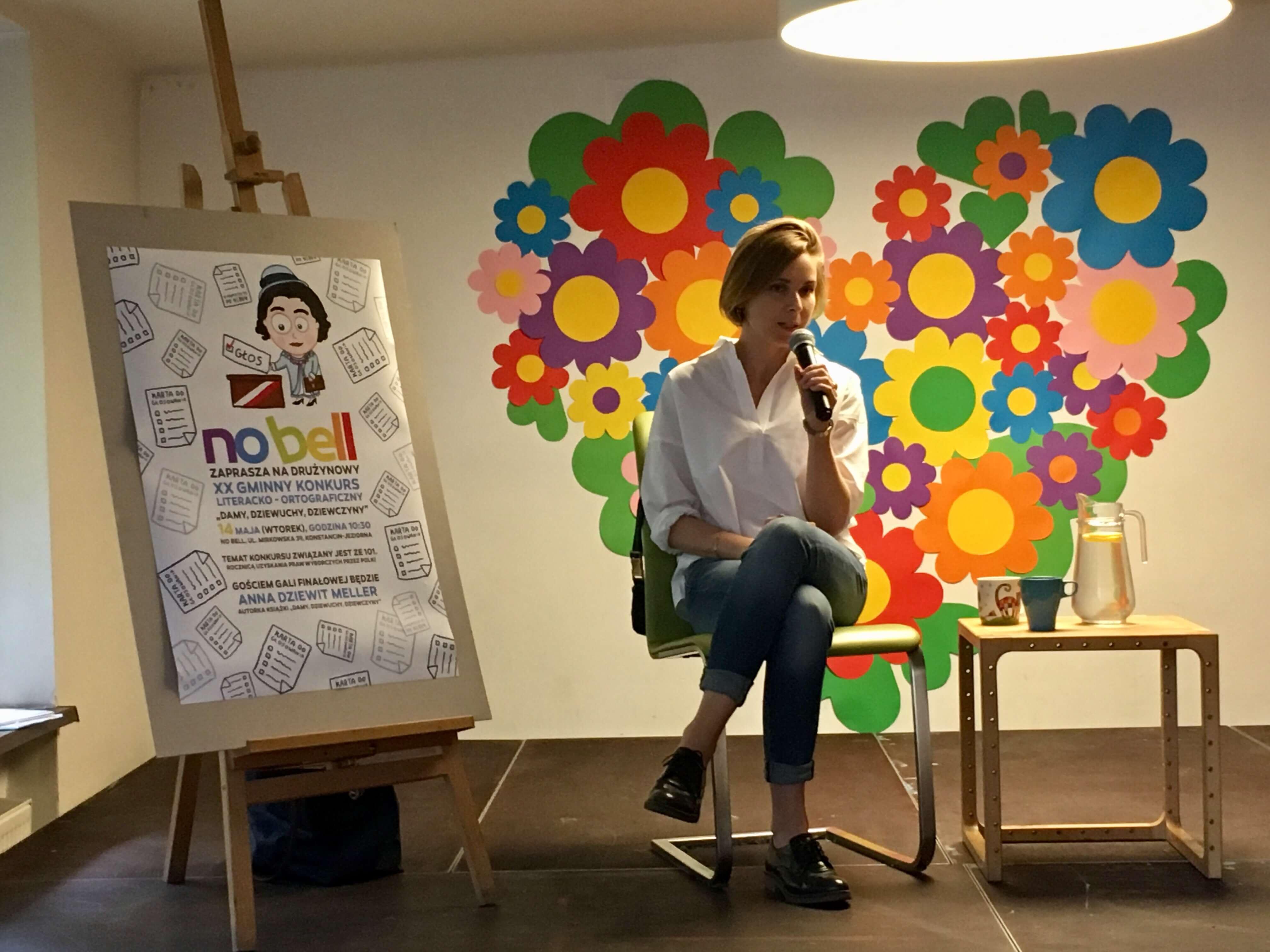 Anna Dziewit–Meller gościem gali finałowej XX Gminnego Konkursu Literacko-Ortograficznego